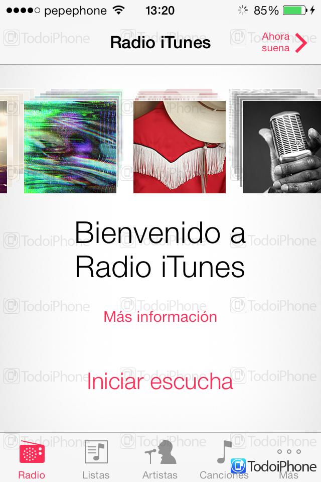 iTunes Radio España - 1