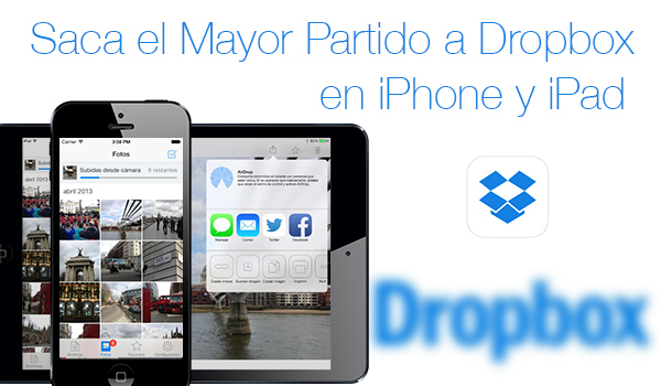 Saca Mayor Partido Dropbox iPhone