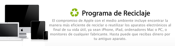 Programa de Reciclaje de iPhone y iPad Llega a Europa