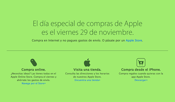 Apple Black Friday 29 Nov 13