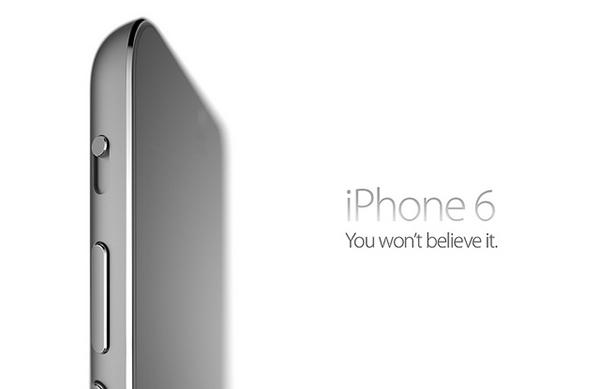 Concept iPhone 6 by Arthur Reis