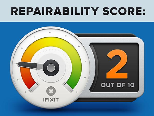 iPad mini Retina Desmontaje - Reparabilidad