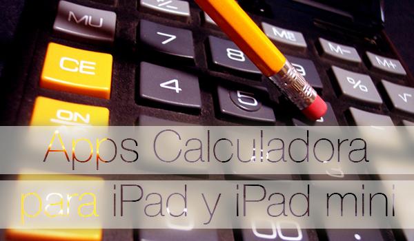 Apps Calculadora iPad