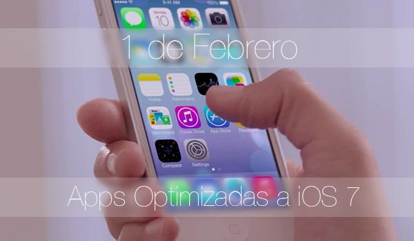 Apps Optimizadas iOS 7