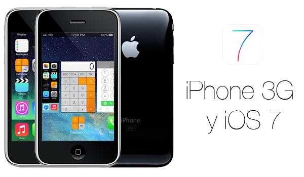 Multitasking iPhone 3G iOS 7