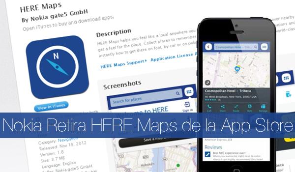 Nokia Rtira HERE Maps