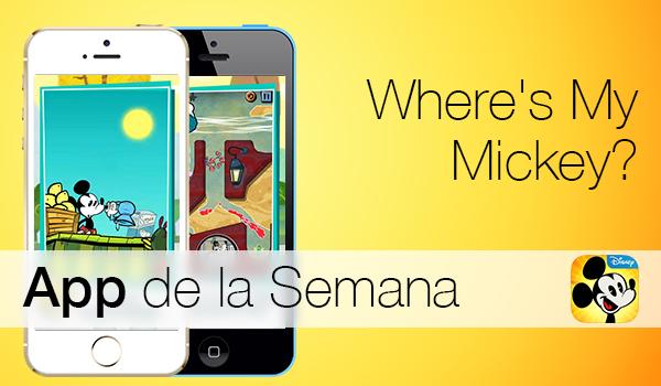 Where Is My Mickey - App de la Semana