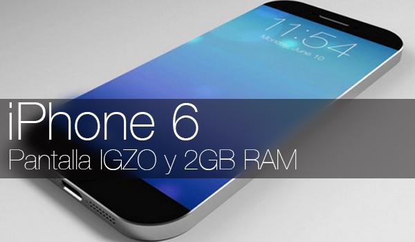 iPhone 6 - Pantalla IGZO 2GB RAM