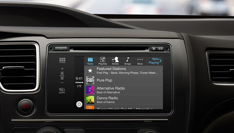 Apple CarPlay - Musica