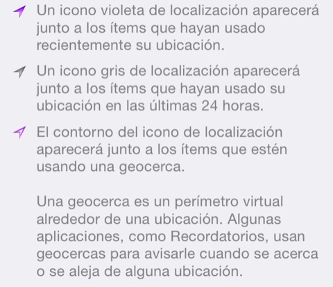 Localizacion iOS 7