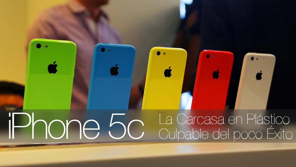 iPhone 5c Carcasa Plastico