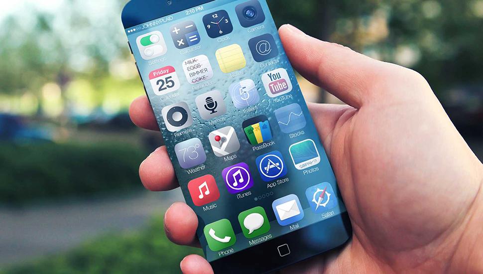 iPhone 6 Concepto Bordes Less