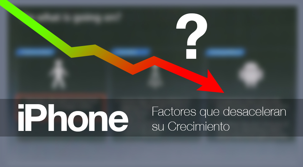 iPhone Crecimiento Lento Apple