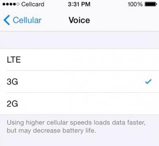 iOS-8-1-Conexion-Red-LTE-3G