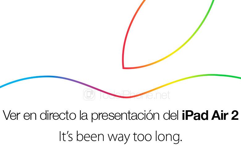 ver-evento-presentacion-ipad-air-2-directo