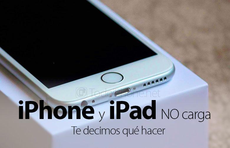 iphone-ipad-no-carga-consejos-solucion