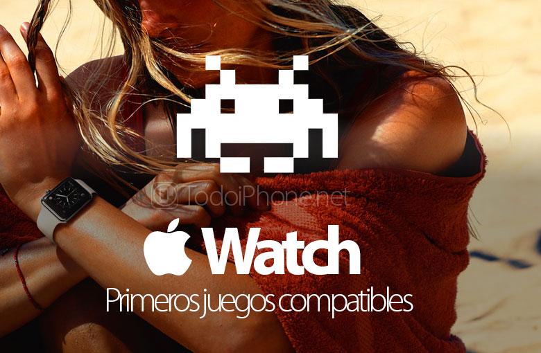 Apple-Watch-Primeros-Juegos-Compatibles