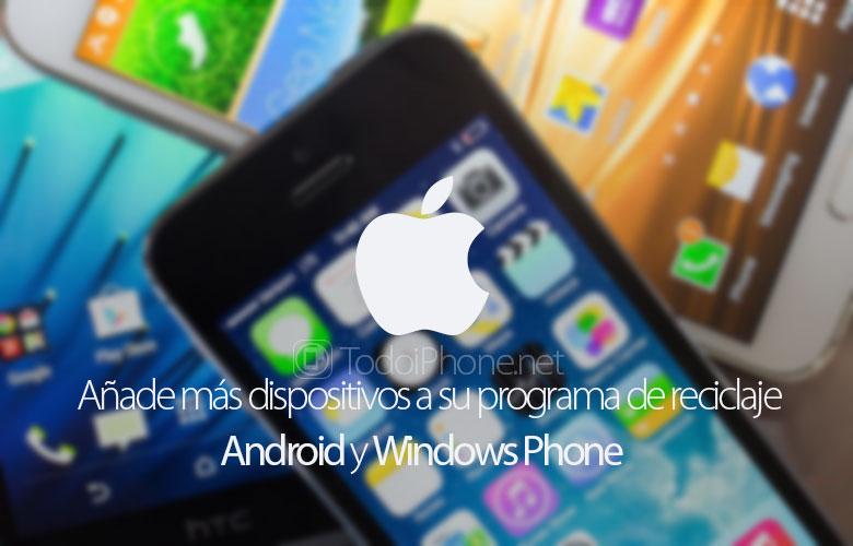 apple-acepta-android-windows-phone-programa-reciclaje