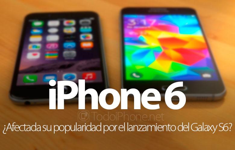 popularidad-iphone-6-afectada-lanzamiento-galaxy-s6