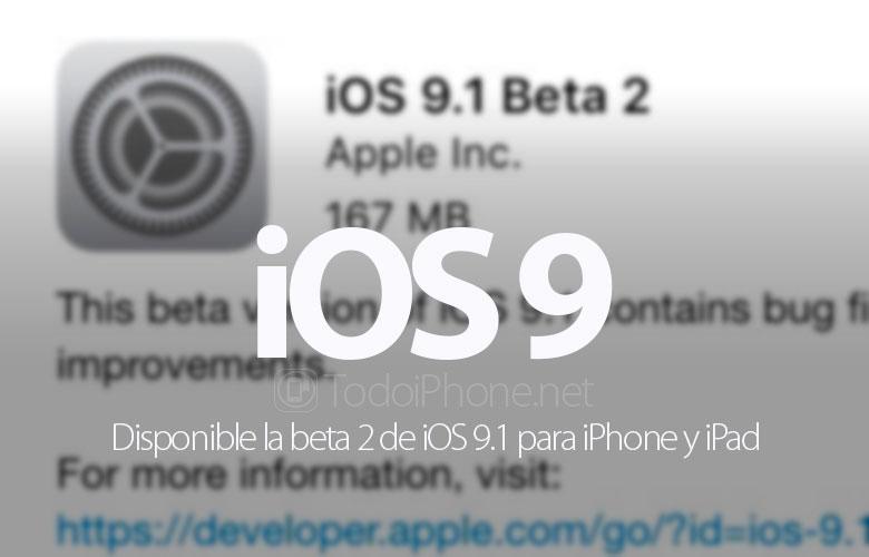 disponible-segunda-beta-ios-9-1