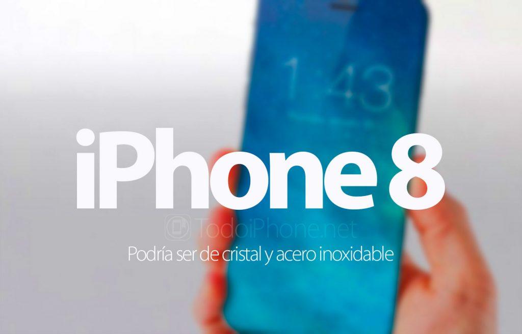 iphone-8-podria-cristal-acero-inoxidable