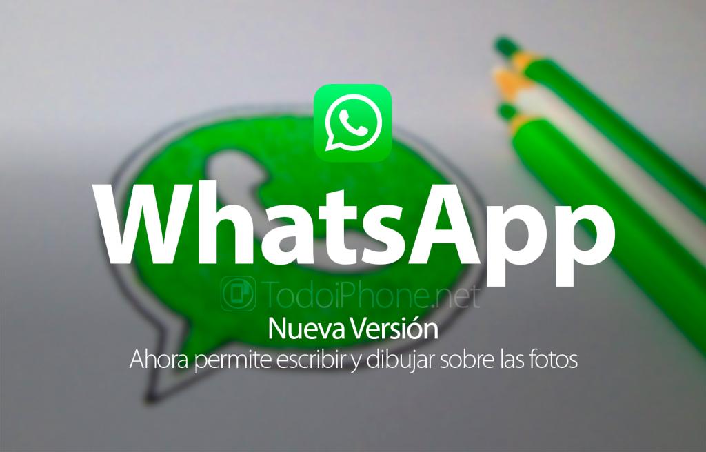 whatsapp-escribir-dibujar-fotos