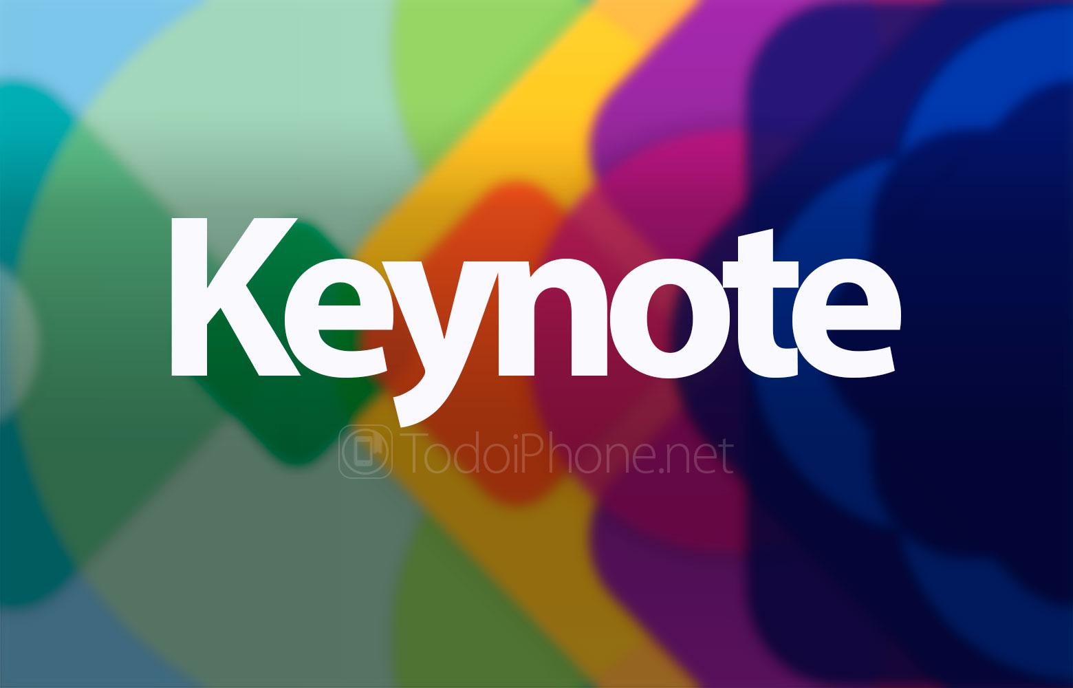 Apple anuncia Keynote para el próximo 27 de Marzo